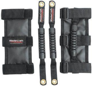 MasterCraft Safety 684206 Black Front/Rear Grab Handle for Jeep JK