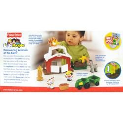 Fisher Price Little People Discovering Animals At The Farm Play Set