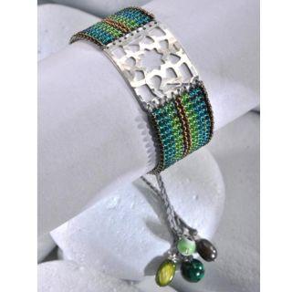 Mishky Sterling Silver Star Flower Bracelet (Colombia)