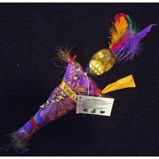 Voodoo Doll Good Luck Power Purple Money Wealth Prosper
