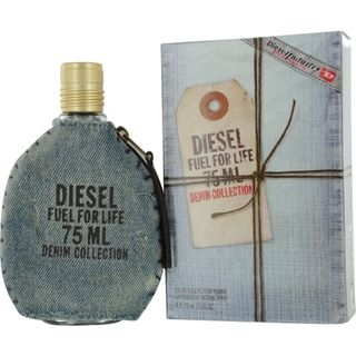 Diesel Fuel For Life Denim Mens 2.5 ounce Spray