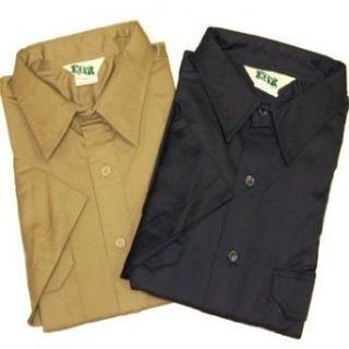Key Short Sleeve 2 Pocket Twill Uniform Shirt Clothing