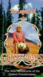 Legend of Grizzly Adams [VHS] Gene Edwards, Acquanetta