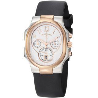 Philip Stein Womens Signature White Dial Chronograph Watch