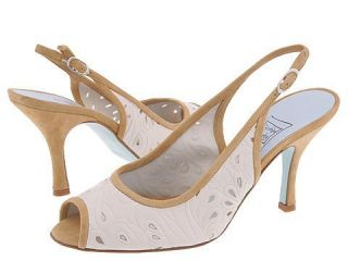 Cynthia Rowley Title Ivory Leather/Tan Suede