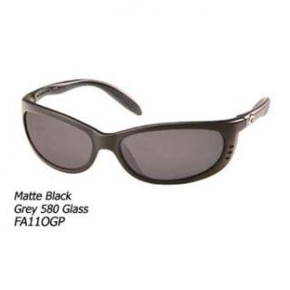 Costa Del Mar Fathom Polarized Sunglasses, Black, Green