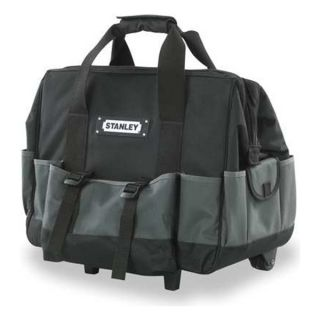 Stanley 520100M Soft Sided Rolling Tool Bag, 19 Wx9 In D