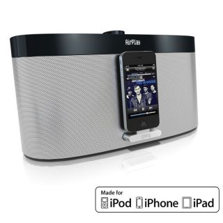 Station daccueil iPod/ iPhone/ iPad   Puissance audio  2 x 10W RMS