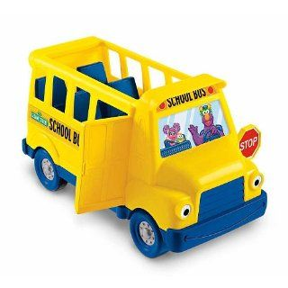 FISHER PRICE SESAME STREET SCHOOL BUS Toys & Games