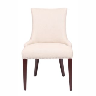 Conceps Cream Linen/ Wood Dining Room Chair