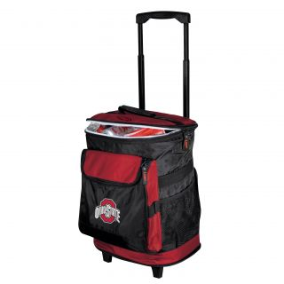 Ohio State Buckeyes Insulated Rolling Cooler Today $51.67