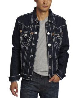 True Religion Mens Jimmy Super Jacket: Clothing