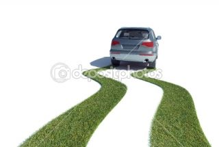 Eco friendly car concept  Foto Stock © Mopic #8021330