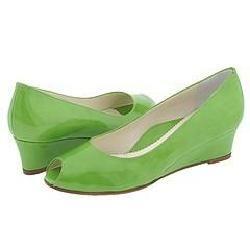 Taryn Rose Kaelyn Green Patent Pumps/Heels