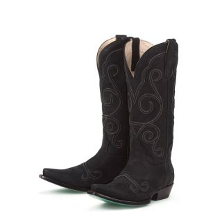Lane Boots Womens Black Wild Ginger Cowboy Boots