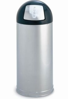 Rubbermaid Marshal Stainless Steel Trash Container