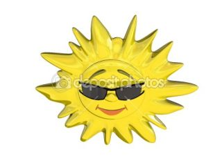 Cartoon sun  Stock Photo © Anton Novikov #1073560