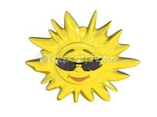 Cartoon sun  Stock Photo © Anton Novikov #1073560