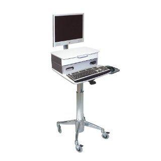 Altus 20W x 23D Flat Panel Cart wtih Medical Drawer
