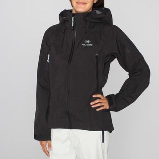 Arcteryx Womens Beta AR Black Ski Jacket (L)