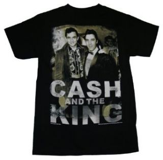 Johnny Cash And Elvis Presley King Music T Shirt Tee