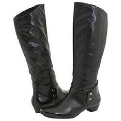 Paul Green Aladdin Black Stretch Nappa Boots   Siz