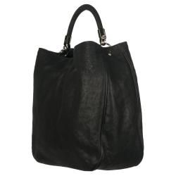 Yves Saint Laurent Black Large Hobo Handbag