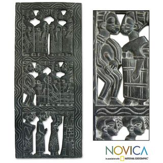Wood African Women Relief Panel (Ghana) Today $259.99