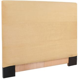 Covered Twin size Chamois Microsuede Headboard