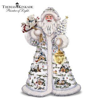 Thomas Kinkade Father Christmas Santa Claus Figurine by