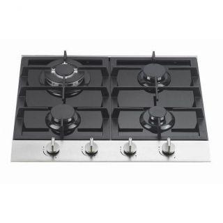 Table de cuisson gaz   4 zones de cuisson   Thermocouple   Commandes