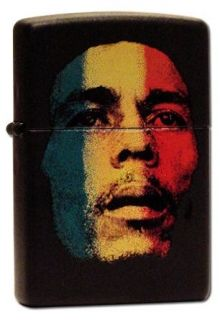 Bob Marley Face Zippo Lighter #199 Clothing