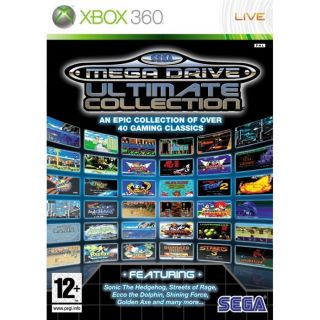 SEGA MEGA DRIVE ULTIMATE COLLECTION / JEU CONSOLE   Achat / Vente XBOX