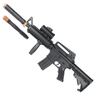 200 FPS Electric Airsoft Double Eagle Assault Rifle w