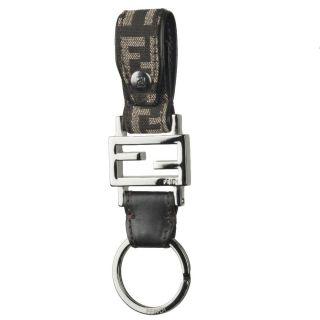Fendi Logo Fabric Key Ring