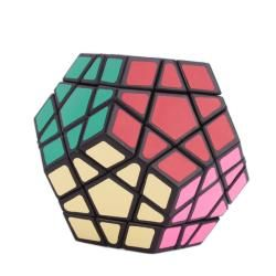 12 color Polygonal Rubik Cube Puzzle Toy