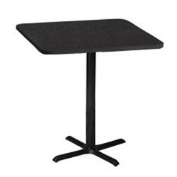 Mayline Bistro Bar height 30 inch Square Table