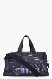 Paul Smith  Black Mini Cooper Duffle Bag for men