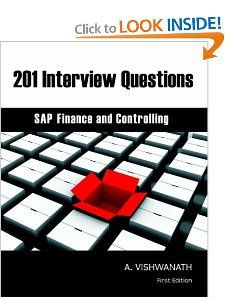 201 Interview Questions   SAP Finance and Controlling A. Vishwanath