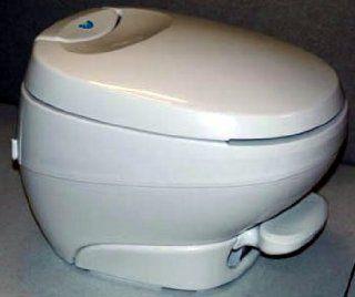 Bravura RV Toilet Low Profile   White
