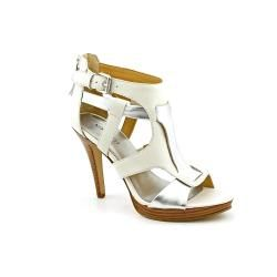 Nine West Womens Maximal Leather Sandals