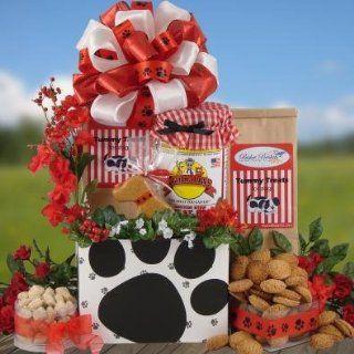 Dog Treats Pet Gift Basket