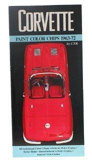 Corvette Color Chips Guide Paint Codes    Automotive