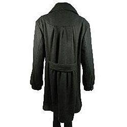 Penningtons Womens Plus Size Wool Blend Coat