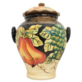 Casa Cortes Barcelona Collection Hand Painted Cookie Jar Today $39.99