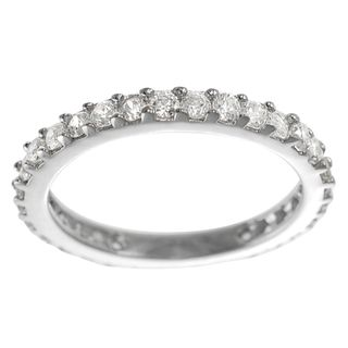 Tressa Collection Silver CZ Vintage Bridal style Ring