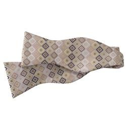 Boston Traveler Mens Microfiber Self tie Bowtie
