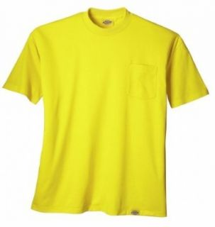 Dickies Work Clothes Mens High Visibility Poly Shirt