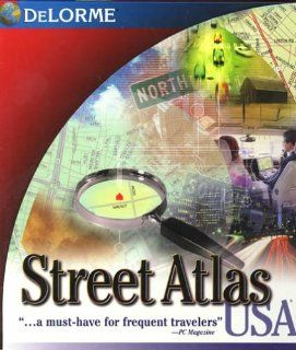 Street Atlas USA 8.0: Software