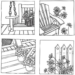 Stamping Bella Paulas Summer Days Unmounted Rubber Stamp